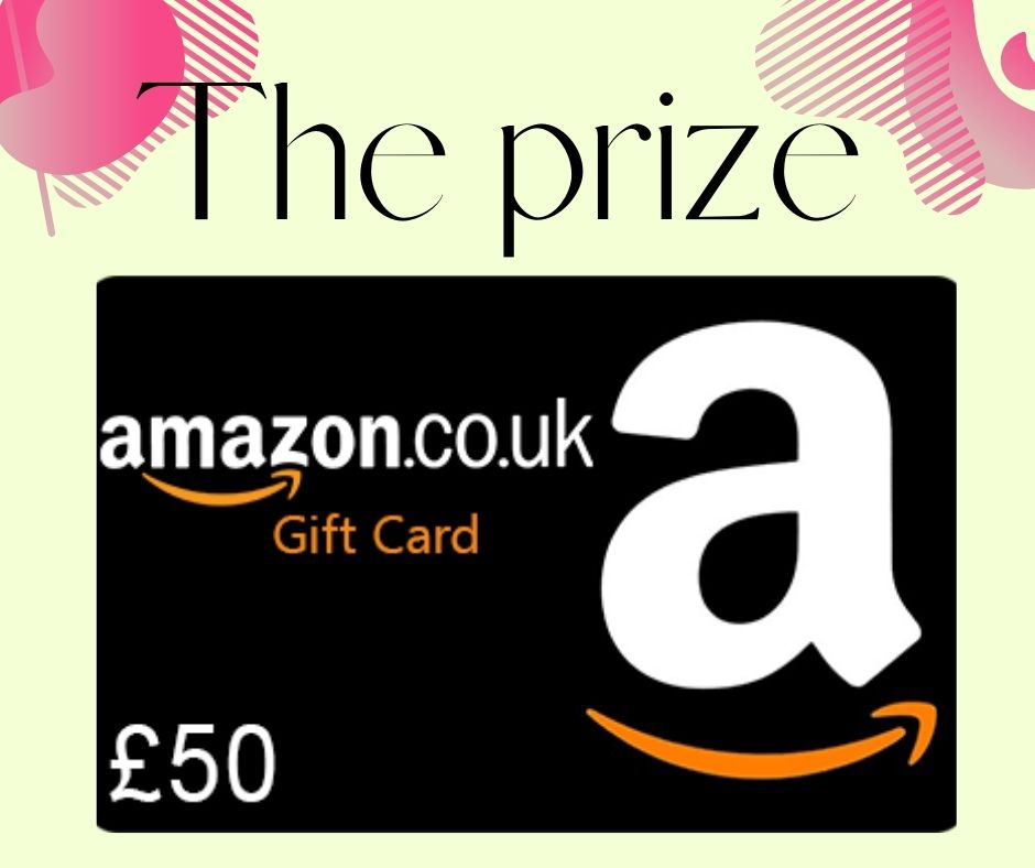 Win a £50 Amazon voucher this month